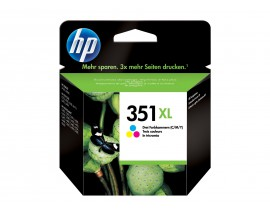 CARTUCHO ORIGINAL HP 351XL CL CB338EE 580 PAG.