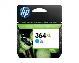 CARTUCHO ORIGINAL HP 364XL CYAN CB323EE 750 PAG