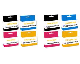 X8 CARTUCHO PREMIUM GEN. HP 953XL BK/C/M/Y