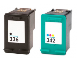 COMPATIBLE TINTA PACK BK/CL HP 336/342