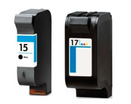 COMPATIBLE TINTA PACK HP 15 17 BK/CL