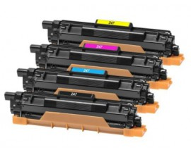 X4TONER PACK PREMIUM GEN.TN243/TN247 BROTHER  2.3K