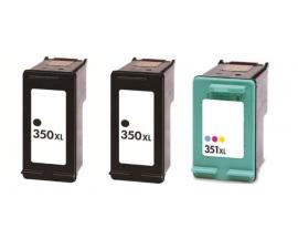 COMPATIBLE TINTA PACK 2BK/1CL HP 350XL/351XL