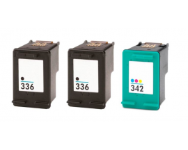 COMPATIBLE TINTA PACK 2BK/CL HP 336/342