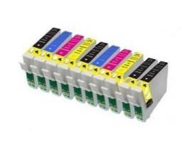 X10 COMPATIBLE TINTA T0711 4BK/2C/2M/2Y EPSON