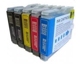 X5 COMPATIBLE TINTA LC1240/1220 BROTHER 2BK/C/M/Y