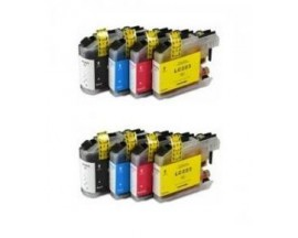 X8 COMPATIBLE TINTA LC223XL BROTHER 2BK/2C/2M/2Y