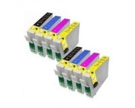 X8 COMPATIBLE TINTA T0711 2BK/2C/2M/2Y EPSON
