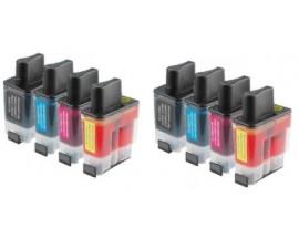 X8 COMPATIBLE TINTA BROTH LC900/LC950 2BK/2C/2M/2Y