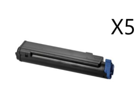 X5 COMPATIBLE TONER OKI B430/440/MB460 NEGRO 7K