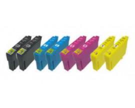X8 COMPATIBLE TINTA 502XL EPSON 2BK/2C/2M/2Y