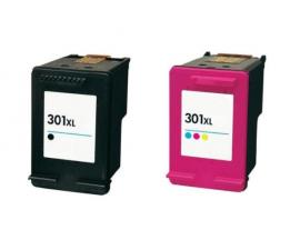 COMPATIBLE TINTA PACK HP 301XL BK/CL V.3