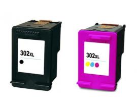 COMPATIBLE TINTA PACK HP 302XL BK/CL V.3. 302XL: O