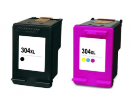 COMPATIBLE TINTA PACK HP 304XL BK/CL
