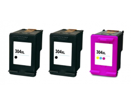 COMPATIBLE TINTA PACK HP 304XL 2BK/CL